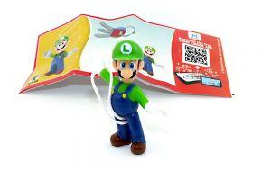 Super Mario sein Freund Luigi in blauer Latzhose - DV549 mit Beipackzettel