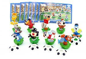 9 Figuren von Magic Sport II mit allen Bällen und Beipackzetteln