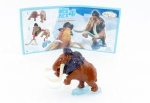 Manni Mammut aus der Serie Ice Age 4 mit Beipackzettel
