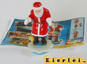 Der Elf und der Weihnachtsmann mit BPZ Ausland