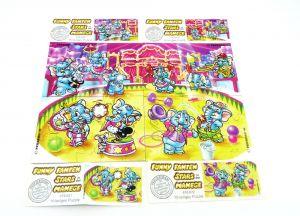 Fanny Fanten Manege, alle 4 Puzzleecken und BPZ (Superpuzzle)