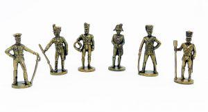 Satz Maraja Figuren der Preußen (Metallfiguren)