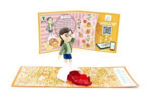 MARGO Figur (SD707) mit Beipackzettel von den Minions 3