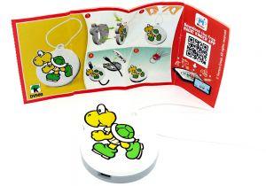Kabelschützer - Anhänger  von Yoshi mit deutschem Beipackzettel (DV589) Kinder Joy 2020