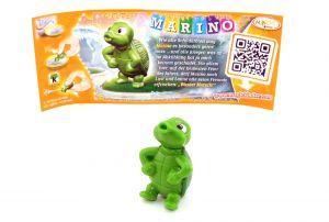 Marino mit Beipackzettel (Die Geburtstagsparty 40 Jahre Ü-Ei)