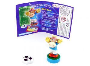 Mario Mucca mit Ball und deutschen Beipackzettel (Magic Sport)