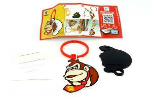Super Mario, Donkey Kong Anhänger DV588 mit Beipackzettel