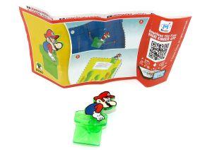 Super Mario Clip aus dem Kinder Joy Ei DV563 mit Beipackzettel