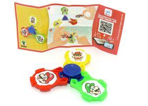Super Mario Fidget Spinner mit Beipackzettel DV551