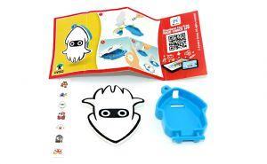 Super Mario, Sticker Box DV553 mit Beipackzettel
