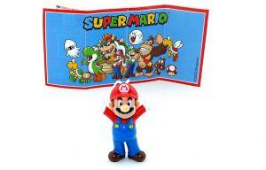 Super Mario mit blauer Latzhose. Beipackzettel DV548