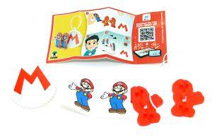 Super Mario Kopfhörerhalten DV556 mit Beipackzettel