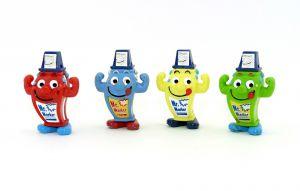 Alle 4 Mr. Marker der Serie [Rot, blau, gelb und grün]