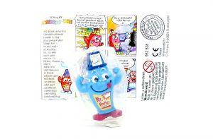 Mr. Marker in blau mit Beipackzettel und OVP von der ersten Schreibtischbande