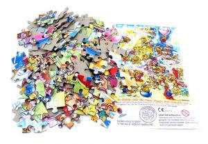 Maxi Ei Puzzle Pinky Piggys mit Beipackzettel  (150 Teile Puzzle)