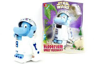 R2 D2 Robotter Erzwo Hippo aus dem Maxi Ei mit Beipackzettel (Star Wars)