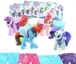 Satz My Little Pony aus dem Maxi Ei, 4 Ponys (My little Pony)