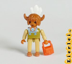Medizinmann mit oranger Tasche (Schlangenfluss)