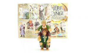 Merry und Pippin die Hobbits mit Beipackzettel (Herr der Ringe 1 Die Gefährten)