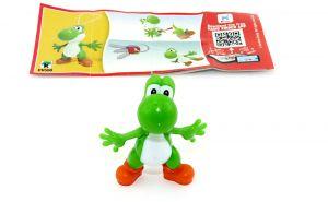 Super Mario sein Freund Joshi in grün DV550 mit Beipackzettel