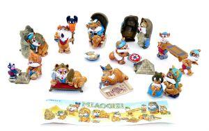 Satz Miaogizi - Katzenfiguren Set mit Beipackzettel  (EU Sätze)