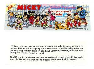 Beipackzettel von MICKY und seine tollen Freunde