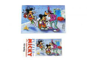 Puzzleecke von Micky und Freunde mit Beipackzettel (Ecke unten links, 15 Teile)