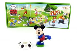 Micky Maus mit deutsch beschrifteten Beipackzettel, Micky Maus & Freunde