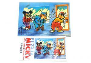 Puzzelecke mit BPZ von Micky Maus oben links