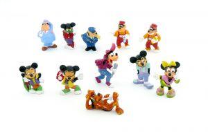 Satz Micky und seine Freunde von 1989 (Komplettsatz mit 11 Figuren)