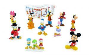 MICKEY und Co. Figurensatz mit Beipackzettel [Firma Zaini]