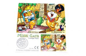 Miezi Cats Puzzle unten links mit Beipackzettel