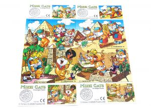 Miezi Cats, alle 4 Puzzle mit BPZ (Superpuzzle)
