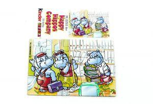 Happy Hippo Company Puzzleecke oben links mit Beipackzettel