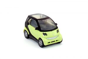 Smart fortwo Coupé als Automodell Maßstab 1:87