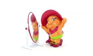 Lara Laufsteg mit Spiegel von den Pinky Piggys