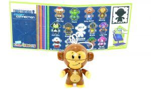 Monkey mit Beipackzettel (Crazy Connection)