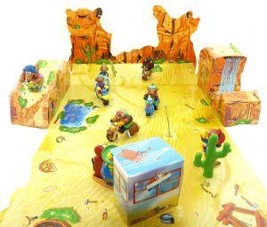 Diorama der Motocoyoten mit original Umkarton