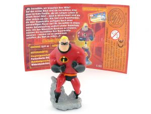 Mr. Incredible mit Beipackzettel (Die Unglaublichen)