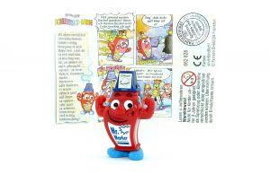 Mr. Marker in rot mit Beipackzettel (Schreibtischbande)
