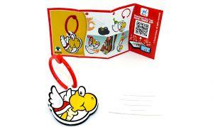 Super Mario Kinder Joy 2020 DV558 Koopa Anhänger mit Beipackzettel