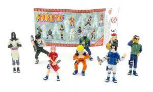 NARUTO Figurensatz mit Beipackzettel von Zaini