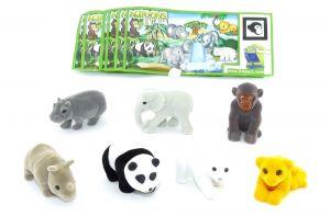 Komplettsatz Natoons Tierkinder OVP mit 7 Beipackzettel
