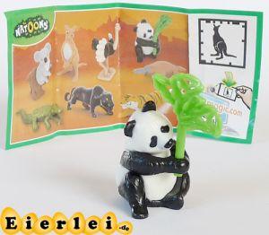 Natoons Tiere aus aller Welt Panda mit Beipackzettel