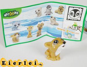Natoons Polarkinder Figuren der Wolf (Einzelfigur)