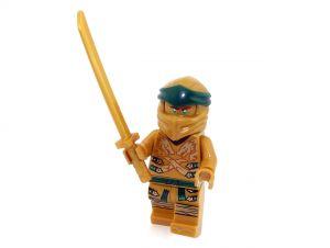 LEGO® NINJAGO® Minifigur goldener Ninja Lloyd aus dem Set 70666