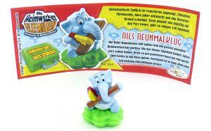 NILS NEUNMALKLUG mit Beipackzettel (Die Heimwerker Elefanten)