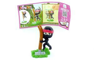 Mascha als Ninja mit Beipackzettel aus der Serie Mascha und der Bär 5 (SE304)