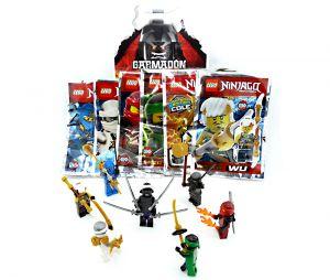 Unterhemd Gr.104 116 128 140 TVM Europe GmbH Lego Ninjago Unterw/äsche Set Jungen Grau meliert Ninja Goooo Unterhose