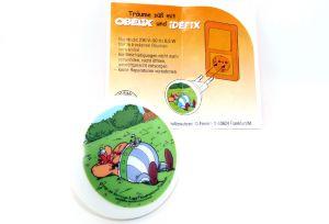 Nachtlicht von Obelix und Idefix aus dem Maxi Ei